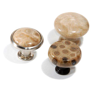 Petoskey Stone Cabinet Knobs