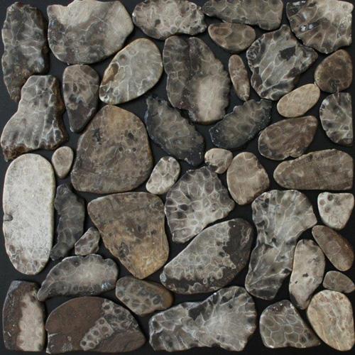 Petoskey Stone Mosaic Tile 12